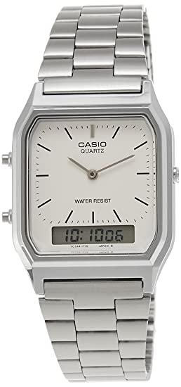 Casio Collection AQ-230A-7BMQYES, Reloj Analógico-Digital para Hombre, Gris: Casio: Amazon.es: Relojes