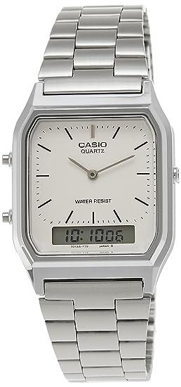 Casio Collection AQ-230A-7BMQYES, Reloj Analógico-Digital para Hombre, Gris: Casio: Amazon.es: Relojes
