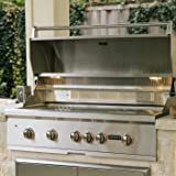 Coyote S-series 42-inch 5-burner Built-in Propane Gas Grill With Rapidsear Infrared Burner & Rotisserie - C1sl42lp