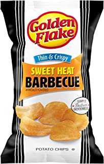 product image for Golden Flake Sweet Heat BBQ Thin and Crispy Potato Chips 4.625 Ounce 4 Pack