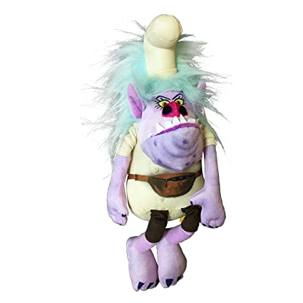 CHEF BERGEN Plush 14 35cm from TROLLS Movie - ORIGINAL Dreamworks