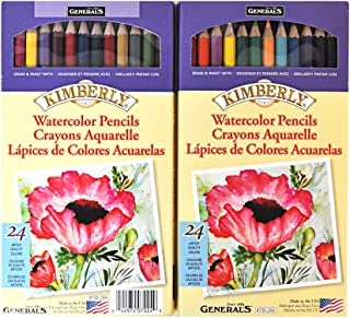 product image for Kimberly 24 Watercolor Pencils