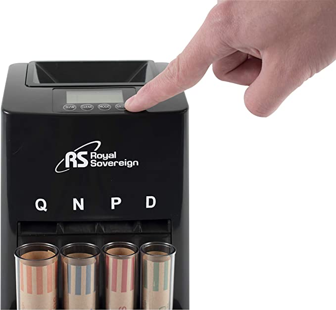 Royal Sovereign One Row Automatic Coin Counter DCB-275D