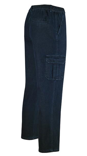 vaqueros térmicos, ajustados, pantalón de cintura elástica ...