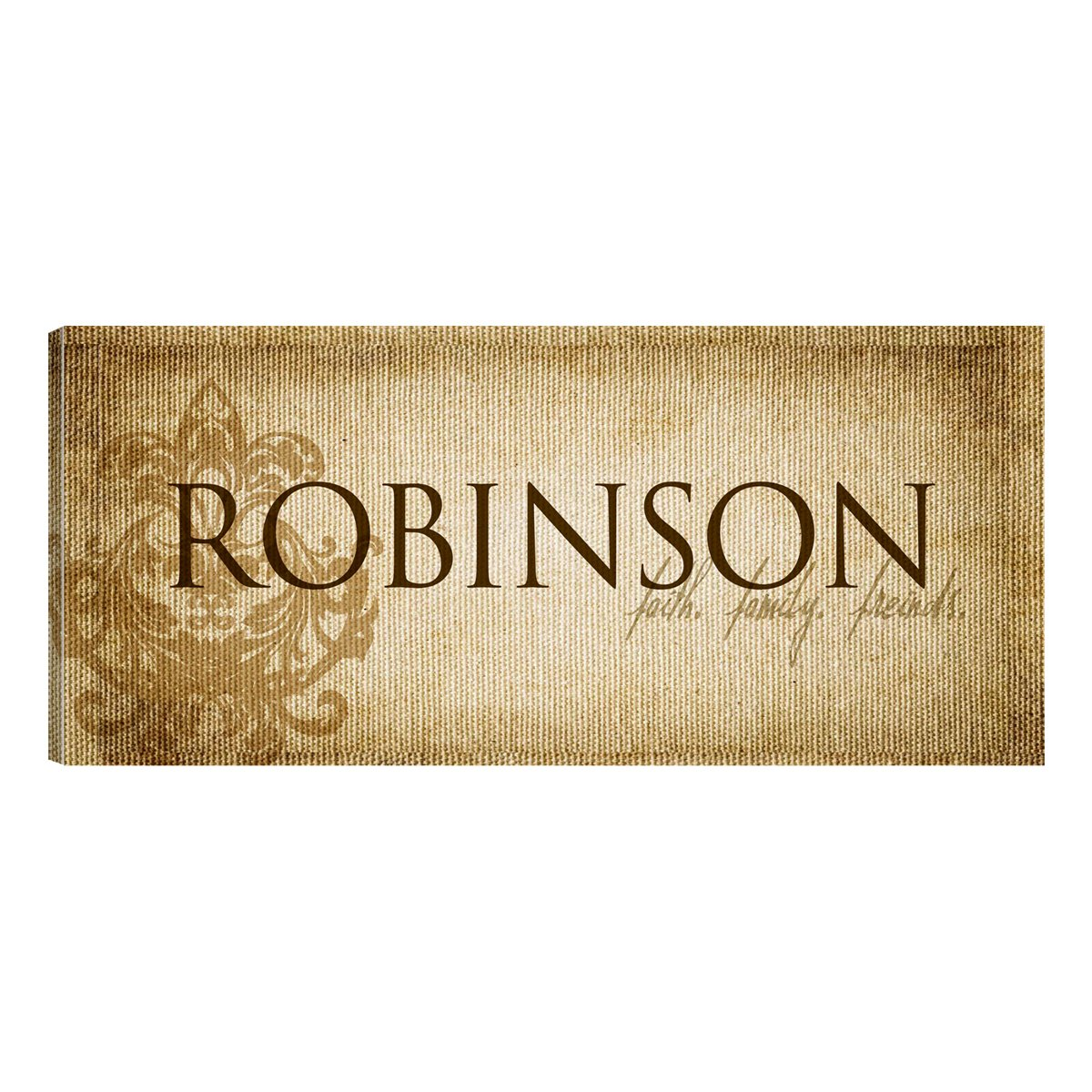 Amazon.com: A Gift Personalized Personalized Canvas Sign Wall Decor ...
