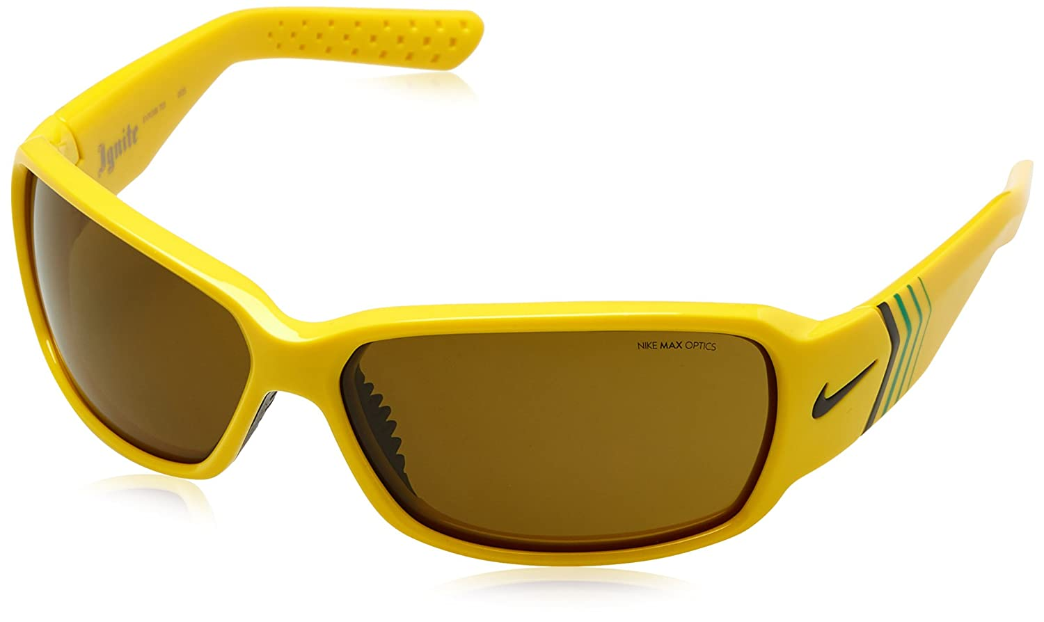Nike NK-IGNITE-9318, Gafas de Sol Unisex Adulto, Amarillo (Yellow), 66: Amazon.es: Ropa y accesorios