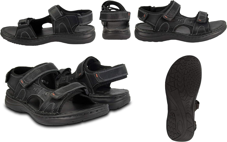 Sandales de Trekking pour Hommes Sandales Homme Randonn/ée Sandales en Cuir pour Hommes Zerimar Sandales pour Hommes Hommes Sandales d/ét/é