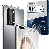 QITAYO Protector de Pantalla para Huawei P40 Pro, [Cobertura Total] [Alta sensibilidad] [Anti-arañazos] [Soft Film…