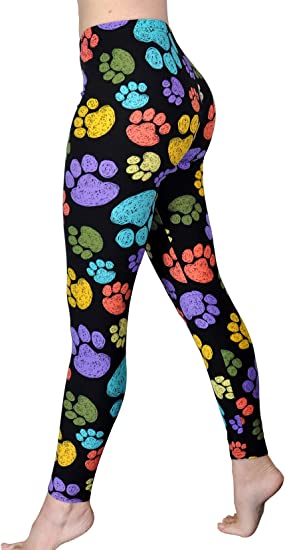 biggest discount preview of wholesale outlet Amazon.com: Comfy Yoga - Super Soft Printed Fashion Leggings ...