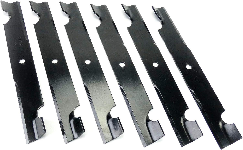 MowerPartsGroup P591 (6) Heavy Duty Blades