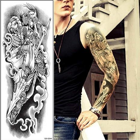 Handaxian 3pcs-Tatuaje Femenino Tatuaje Temporal Brazo Completo ...