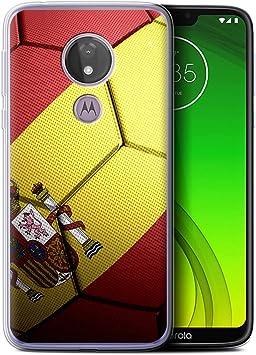 eSwish Carcasa/Funda TPU/Gel para el Motorola Moto G7 Power/Serie: Naciones de fútbol: Amazon.es: Electrónica