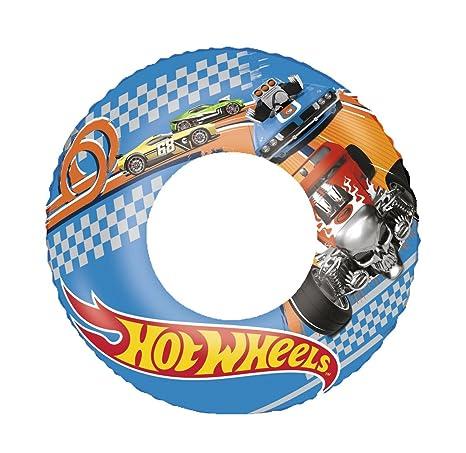 Vian Lundgaard Hot wheelstm Swim Ring, flotador (Bestway, 56 cm, multicolor