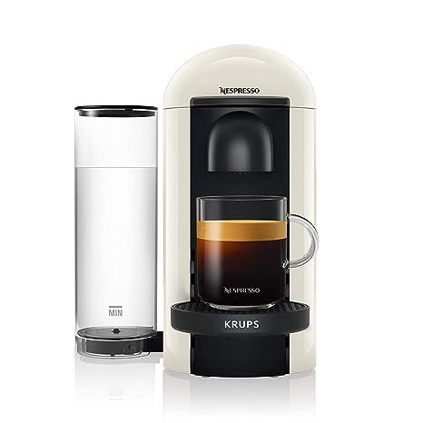 Krups Nespresso xn9031 vertuo Plus Cafetera de cápsulas, color blanco