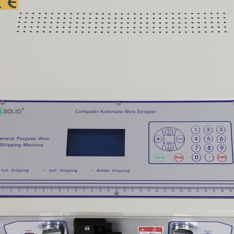 Computer Draht Abisoliermaschine automatische Draht schälen ...