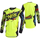 O'Neal - 002E-902 Unisex-Child Youth Element Jersey (VILLAIN) (Neon Yellow, Small)