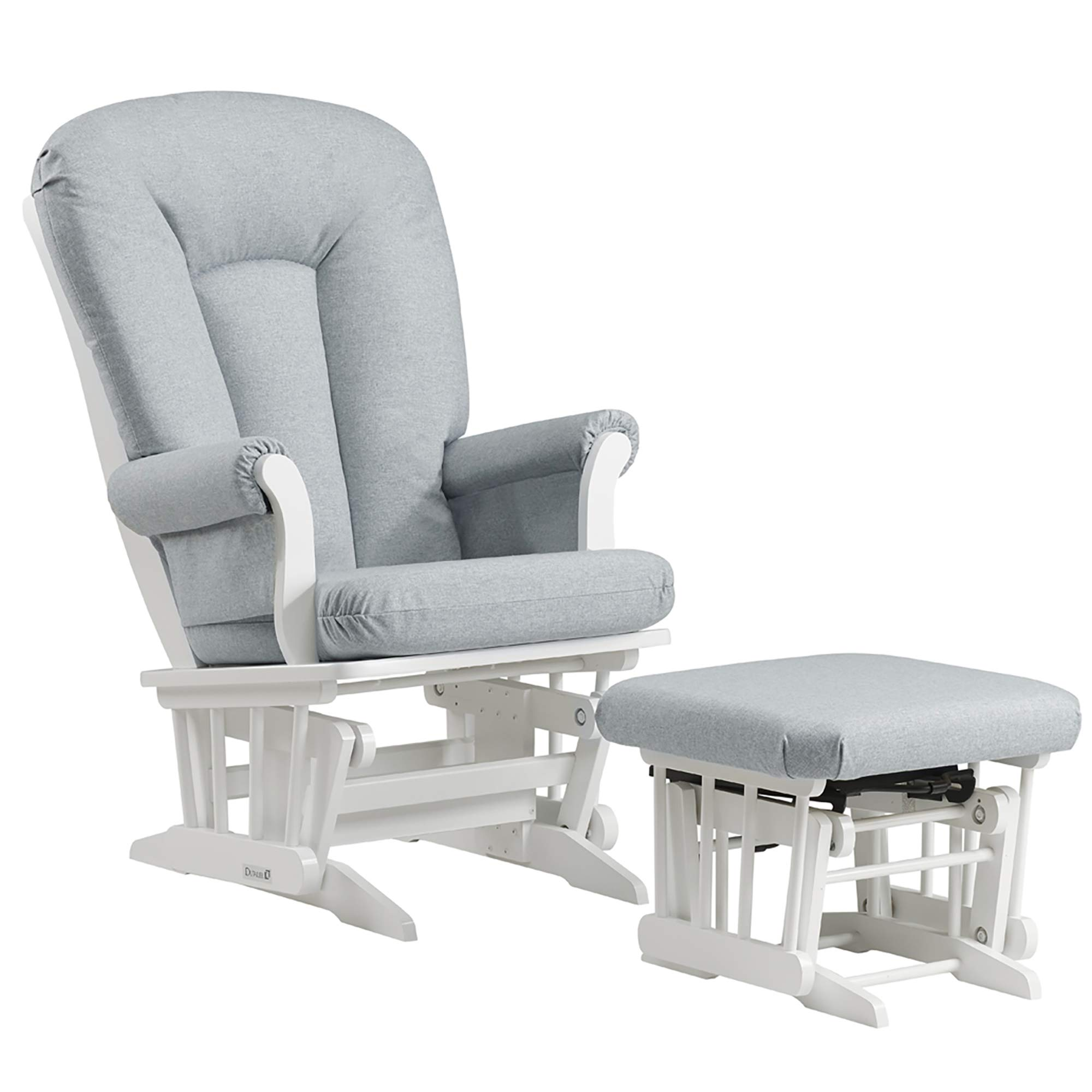 Dutailier Sleigh 0364 Glider Chair with Ottoman Included by Dutailier