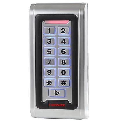 UHPPOTE Impermeable IP68 Caja De Metal RFID Teclado Para Una Sola Puerta Independiente De Control Acceso