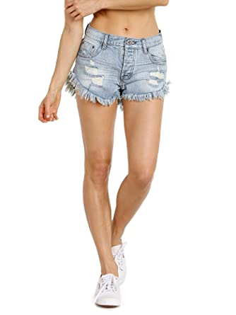 ONE TEASPOON SHORT EN JEAN BRANDOS wVPOS