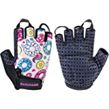 Bassdash Kids' Gloves with Padded Grippy Palm for Bicycles Fishing for 1-8 Years Old Boys Girls