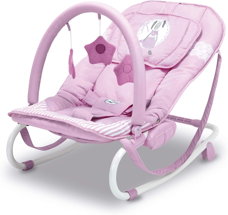 Asalvo Hamaquita Relax Conejitos Color rosa