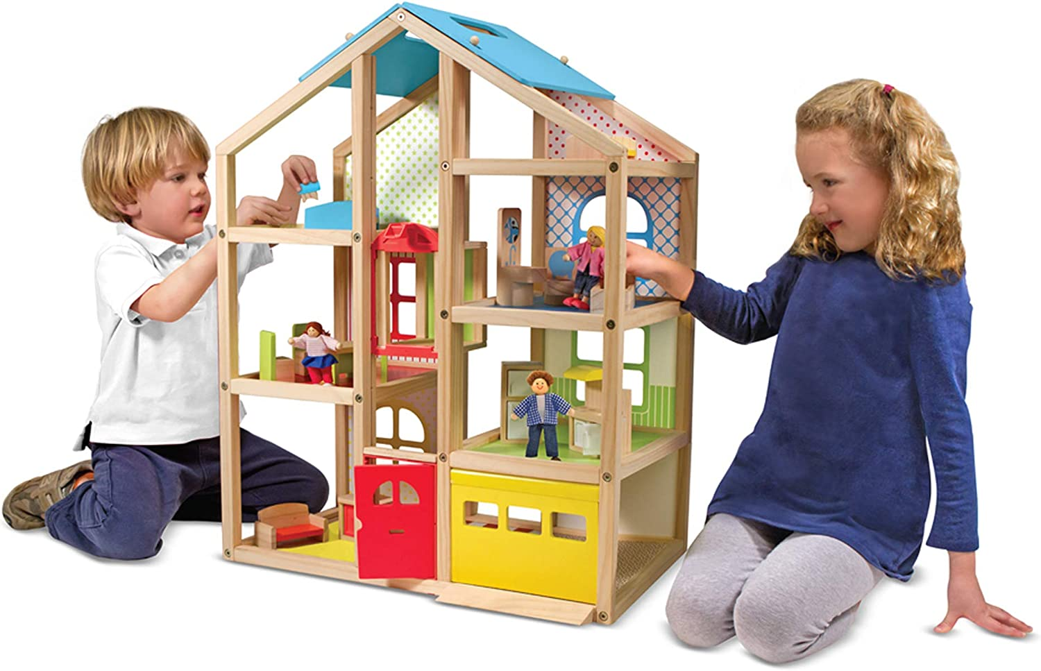 The 10 Best Dollhouse For Toddlers & Little Girls in 2020 1