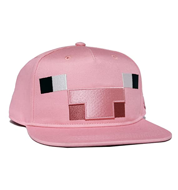 Gorra Minecraft - Cerdo - Official product - Niño - 6 - 10 Years   Amazon.es  Ropa y accesorios db15eed581f