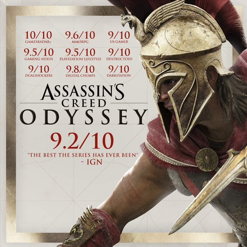 Amazon.com: Assassins Creed Odyssey - PlayStation 4 ...