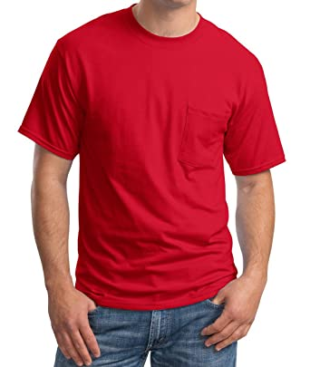 54a0c739cd075 Amazon.com  Sovereign Manufacturing Co Men s Big and Tall Short Sleeve  Pocket T-Shirt  Clothing