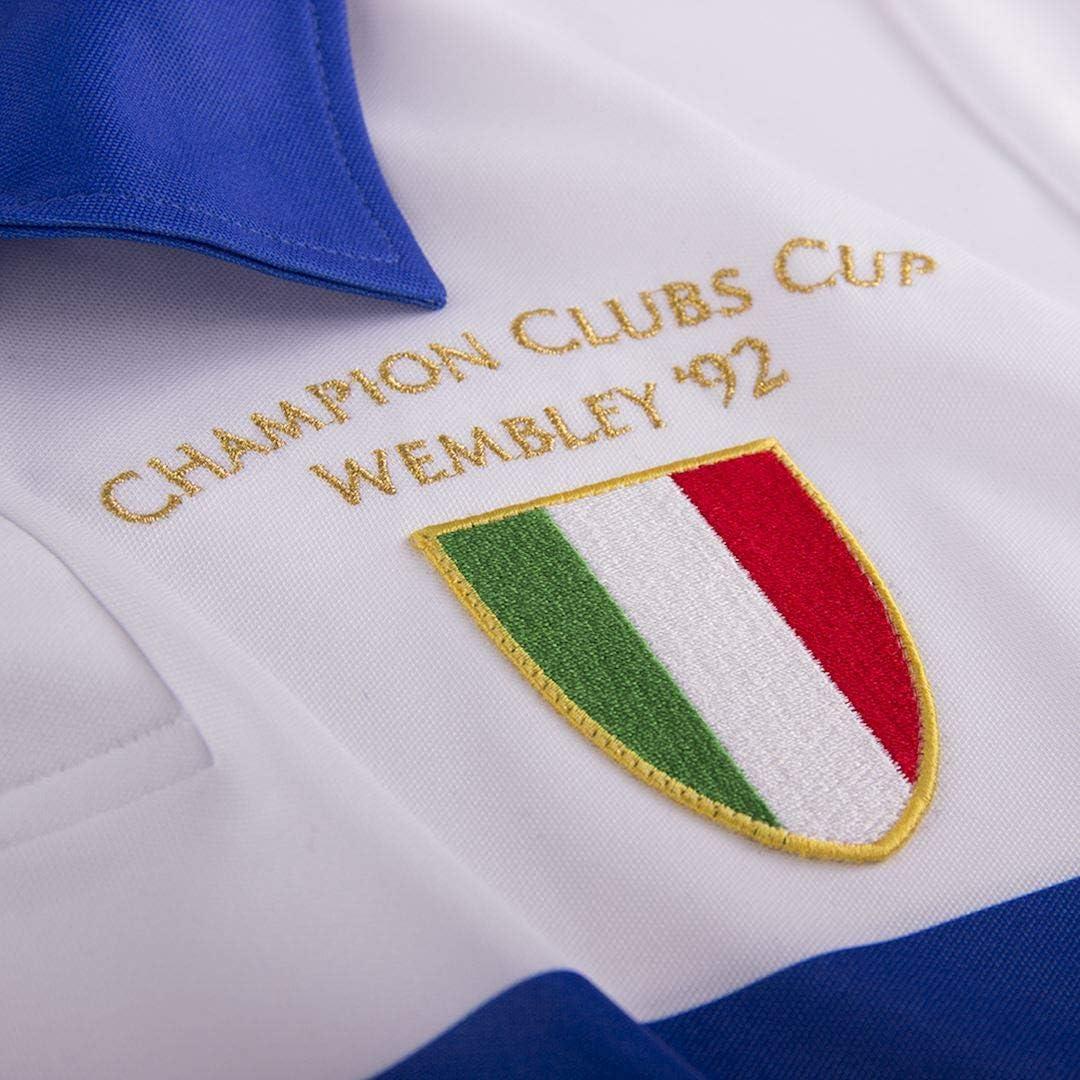 Maillot extérieur Copa U.C Sampdoria 1991/92: Amazon.es: Deportes ...