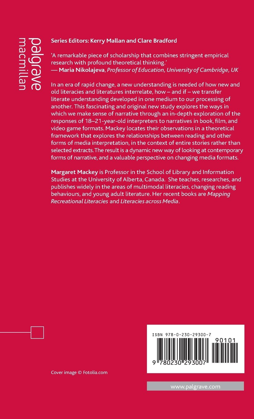 Narrative Pleasures in Young Adult Novels, Films and Video Games (Critical Approaches to Children's Literature) by Palgrave Macmillan