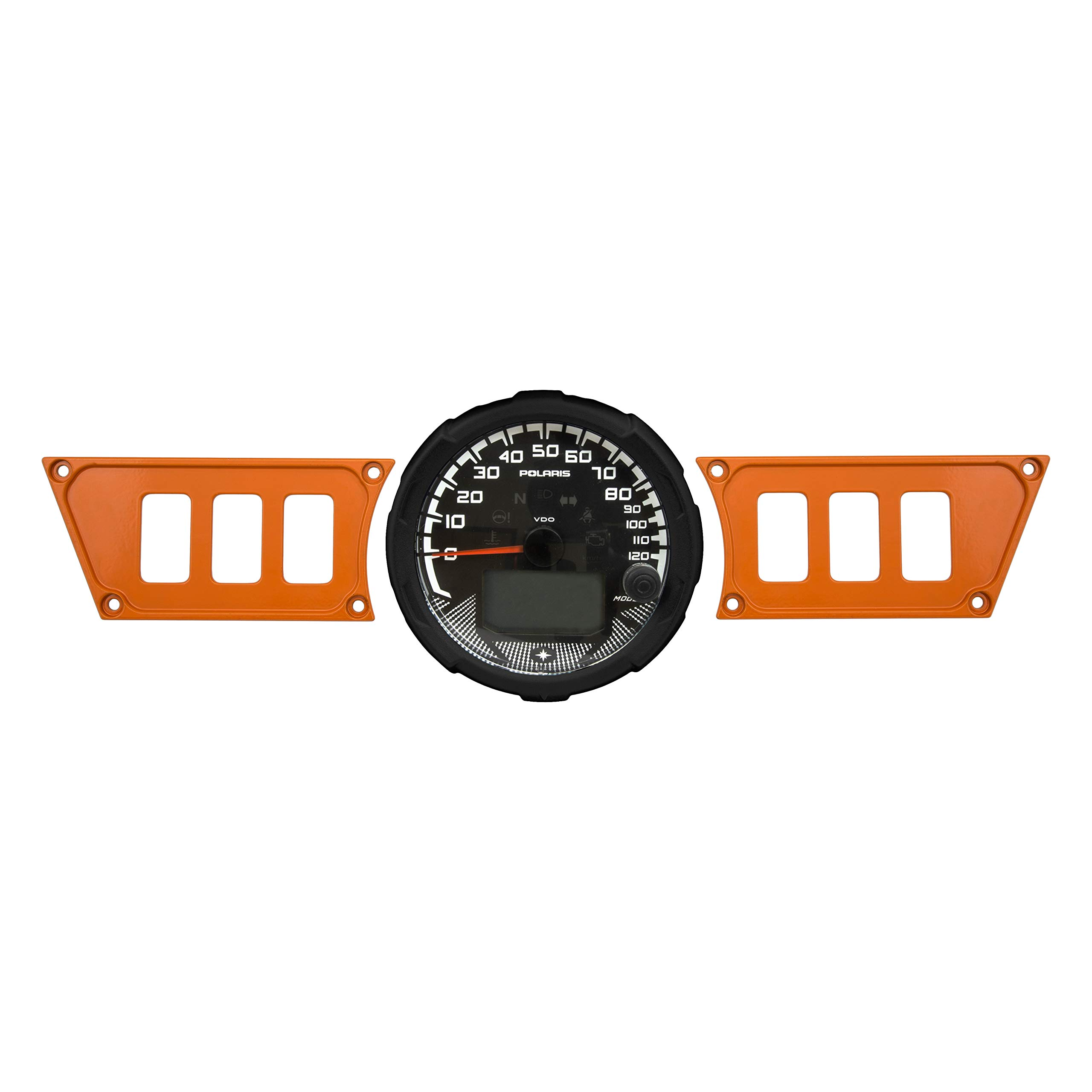 STVMotorsports Orange Aluminum Dash Panel for 2015-2019 Polaris RZR 900 RZR S 900 - Made 100% in USA (no switches Included) by STVMotorsports