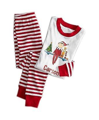 0d7f1a6e8b682 Famille Matching Noël Paternité Costume Impression Pyjama Set Papa Maman  Enfants Bébé Vêtements de nuit Tenues