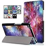 DETUOSI Lenovo Tab 4 8 Cover Custodia, Folding Custodia per Lenovo Tab 4 8.0 Tablet, Cover in Pelle PU per Lenovo Tab 4 8(TB-8504F/TB-8504X)