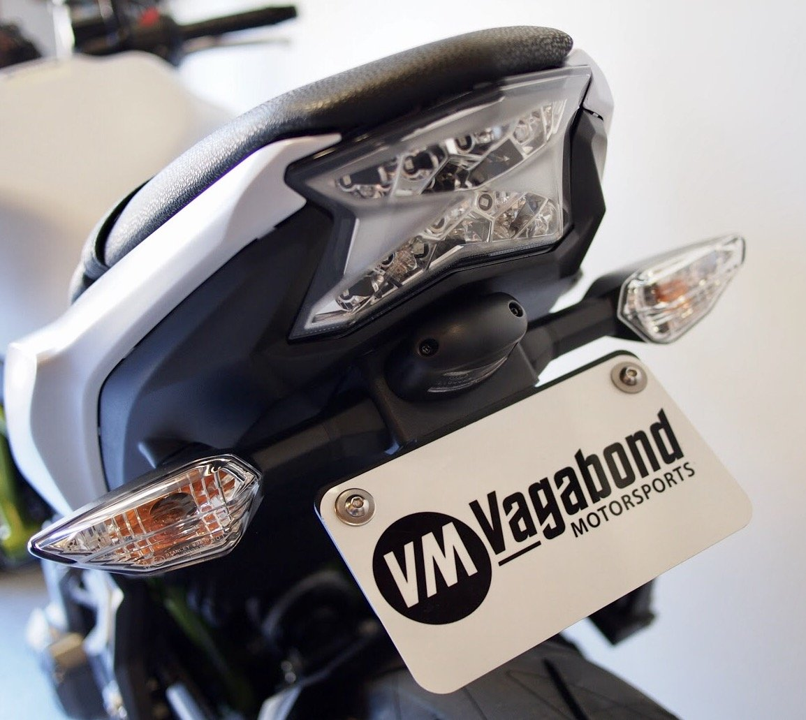 Vagabond Motorsports Kawasaki Z650 Ninja 650 2017 650r Wiring Harness Fender Eliminator Automotive