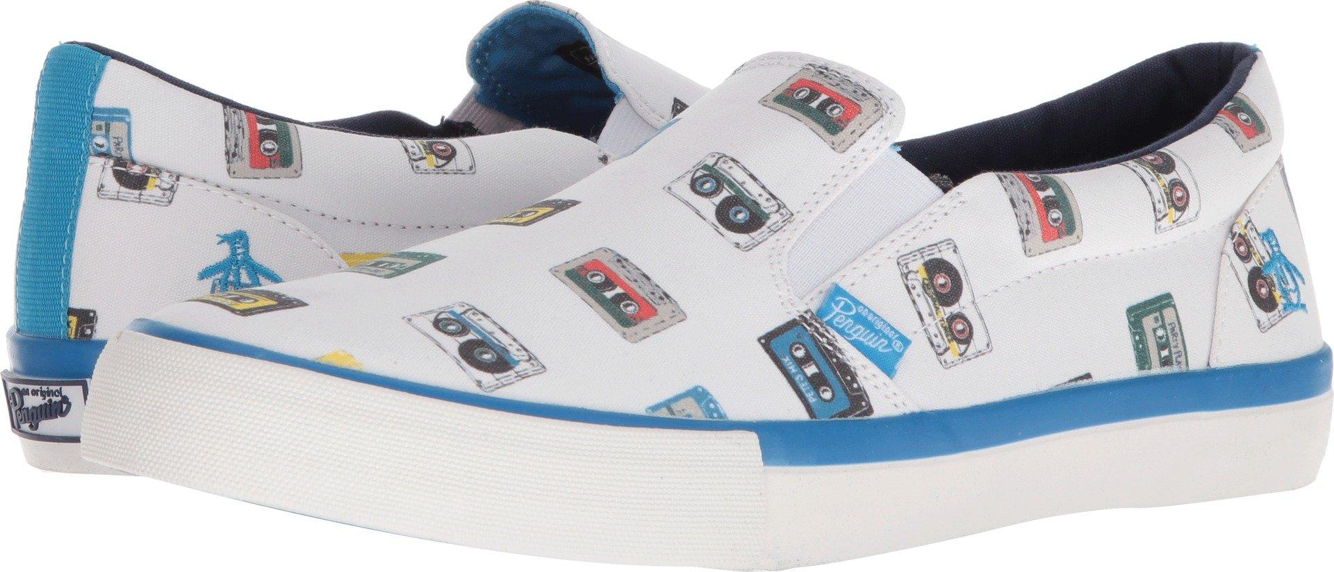Original Penguin Men's Beckett Sneaker, White/Multi Print, 13.0 M US