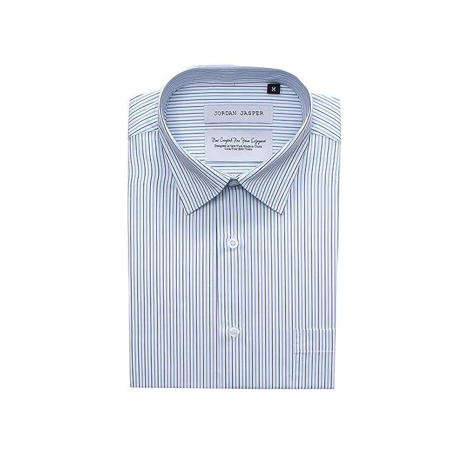 7127439e2740f1 Jordan Jasper Men s JJ303 Striped Dress Shirt