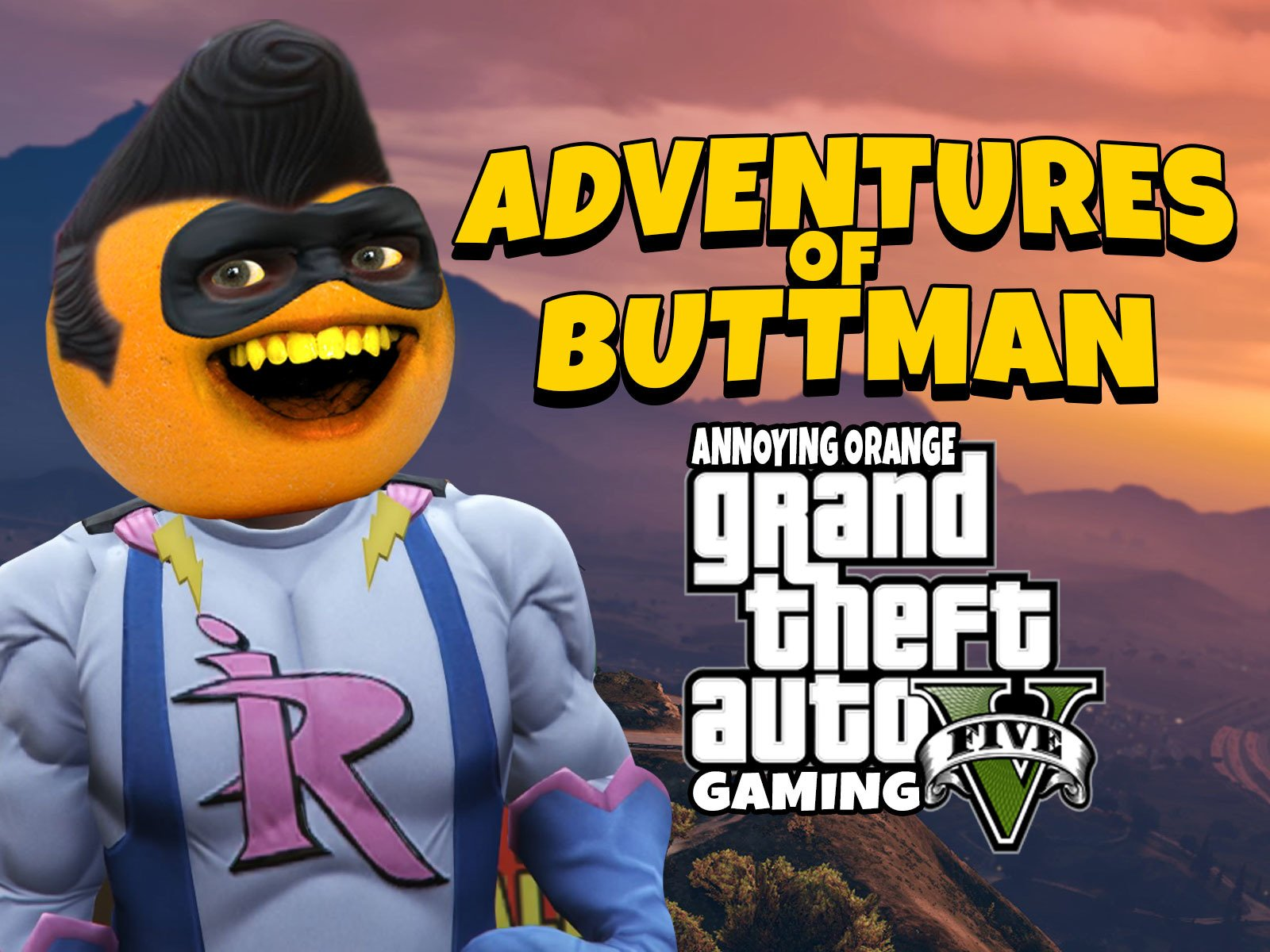 Watch Clip Adventures Of Buttman Annoying Orange Grand - annoying orange gaming roblox jailbreak how to play roblox
