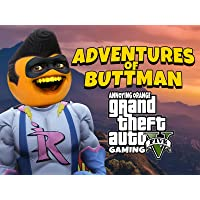 Clip: Adventures of Buttman (Annoying Orange Grand Theft Auto V Gaming)