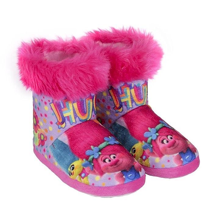 TROLLS 2300002336, Botas de Estar por casa para Niñas: Amazon.es: Zapatos y complementos