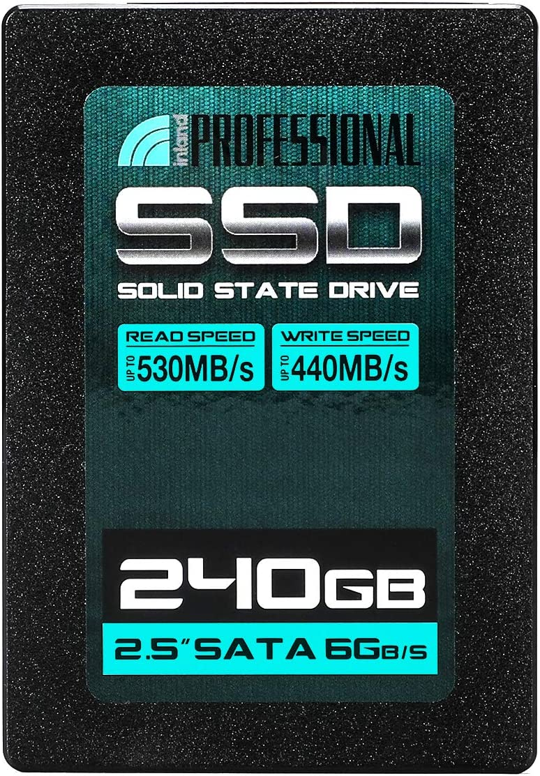 "Inland Professional 240GB SSD 3D NAND SATA III 6Gb/s 2.5"" 7mm Internal Solid State Drive (240G)"