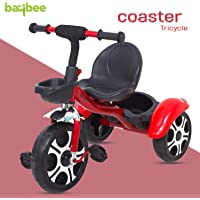 Baybee Coaster Baby Tricycle for Kids/Baby Trike with Storage Basket Suitable for Boys & Girls 1.5 to 5 Years ( Red )