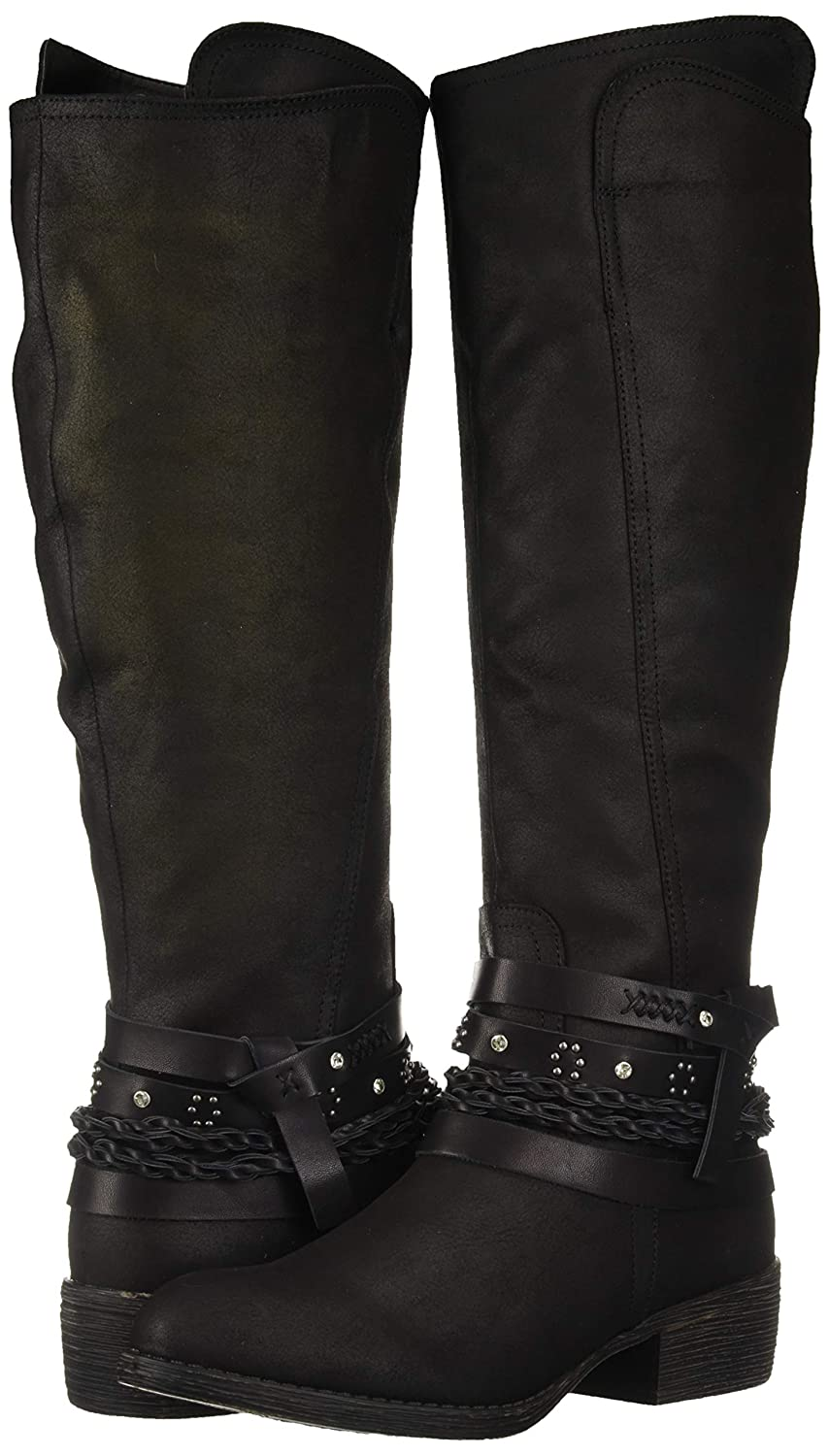 Amazon.com | Sugar Women's Twink Decorative Knee-high Riding Boot |  Knee-High