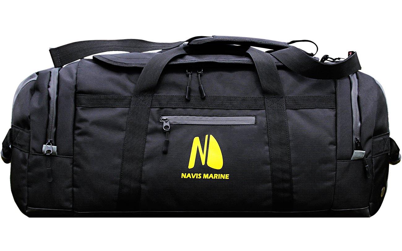 Navis Marine Duffel DryBags Waterproof for Sailing Backpack Boating Luggage Team Bag 50-litres