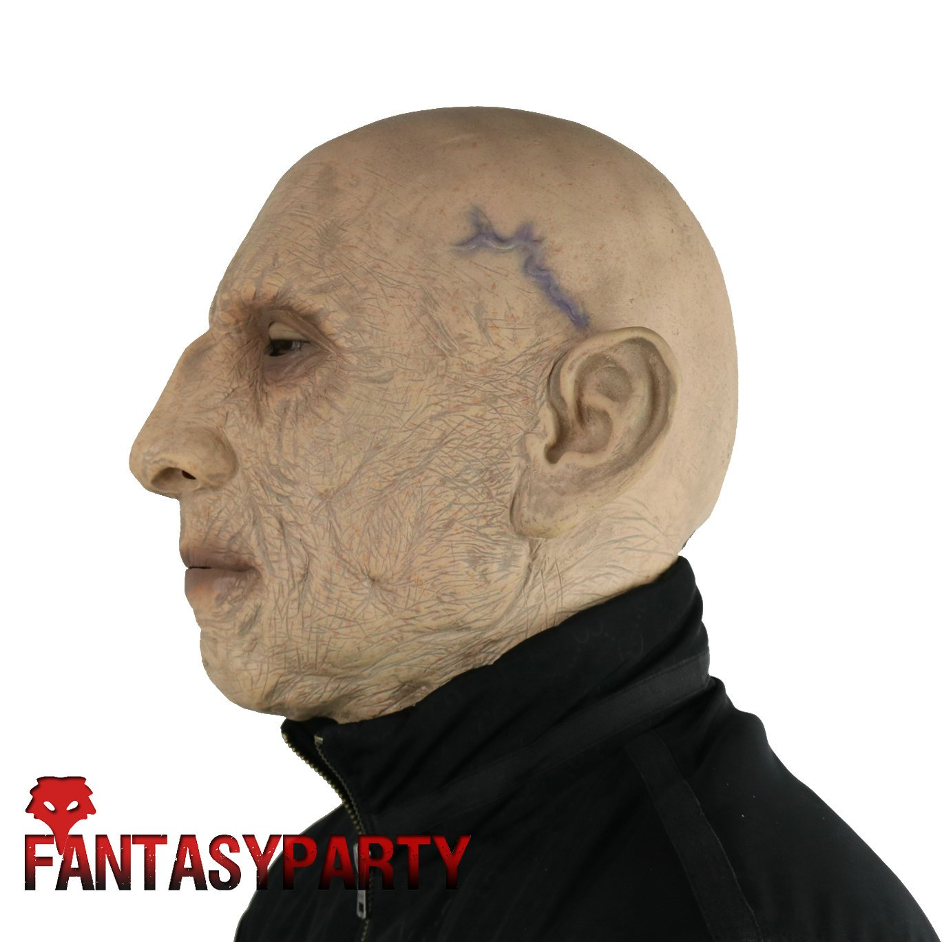 FantasyParty Music Festival Full Head Mask White