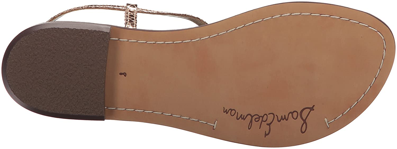 Sam Edelman 5 Women's Gigi Leather B076NXNNQW 5 Edelman B(M) US|Rose Gold/Metallic Boa 1cfe31