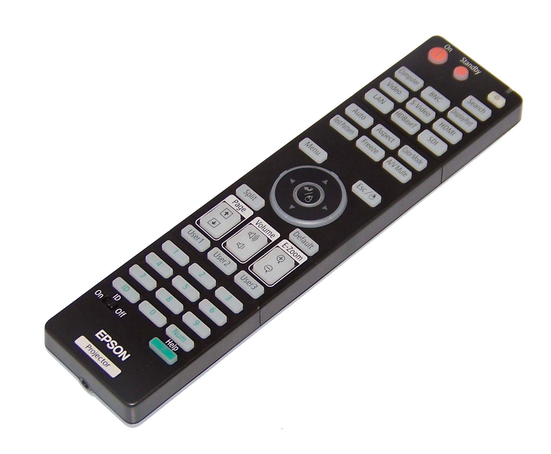 Epson OEM Projector Remote Control EB-4550, EB-4650, EB-4750W, EB-4850W, EB-4950WU, EB-4770W by Epson