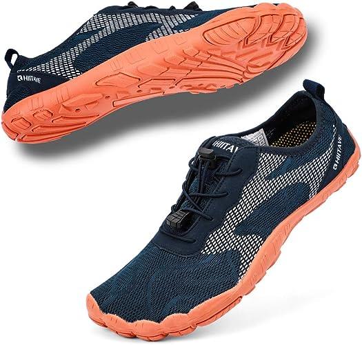 Hiitave - Zapatillas de Agua para Hombre y Mujer, Anchas, para ...