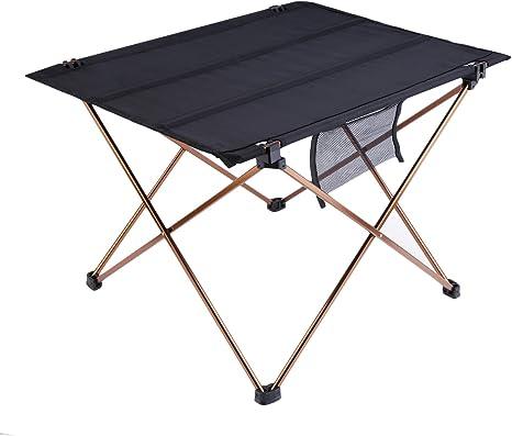 OUTAD Mesa Plegable Portátil para Acampada/Camping Ultra ...