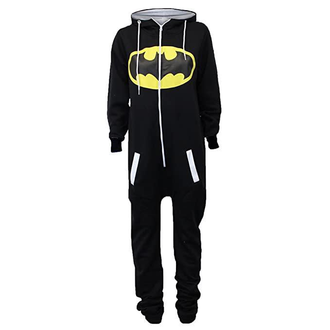 Générique Traje Mujer Jogging Batman Superman Capucha Noir - SABATMAN2 36